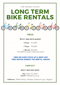 Long Term Bike Rental